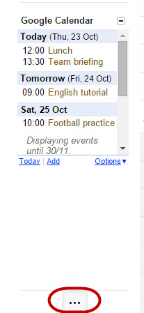 how to add google calendar to gmail